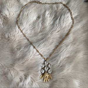 J. Crew Long Statement Necklace